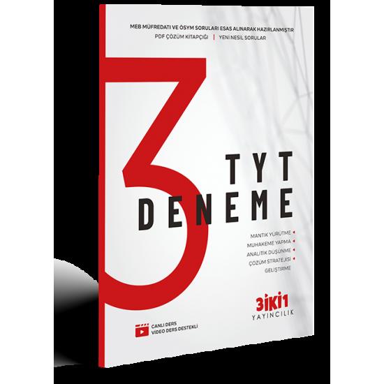 3İKİ1 - TYT 3 Deneme