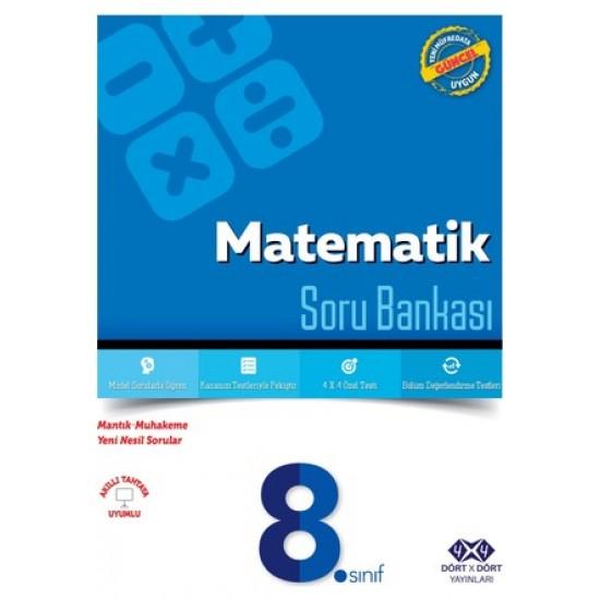 4x4 Yayınları - 8.Sınıf Matematik Soru Bankası