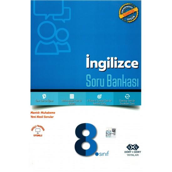 4x4 Yayınları - 8.Sınıf İngilizce Soru Bankası