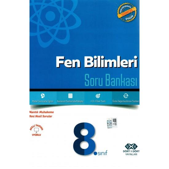 4x4 Yayınları - 8.Sınıf Fen Bilimleri Soru Bankası