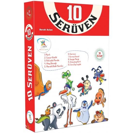 5 Renk Yayınları - 10 Serüven (10 Kitap)