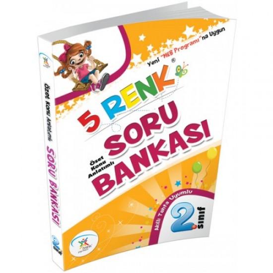 5 Renk Yayınları - Soru Bankası 2. Sınıf