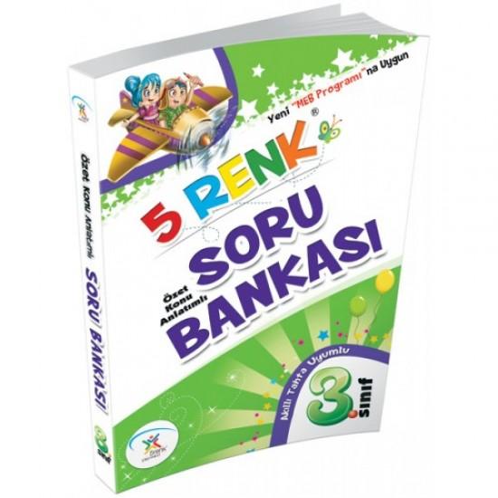 5 Renk Yayınları - Soru Bankası 3. Sınıf