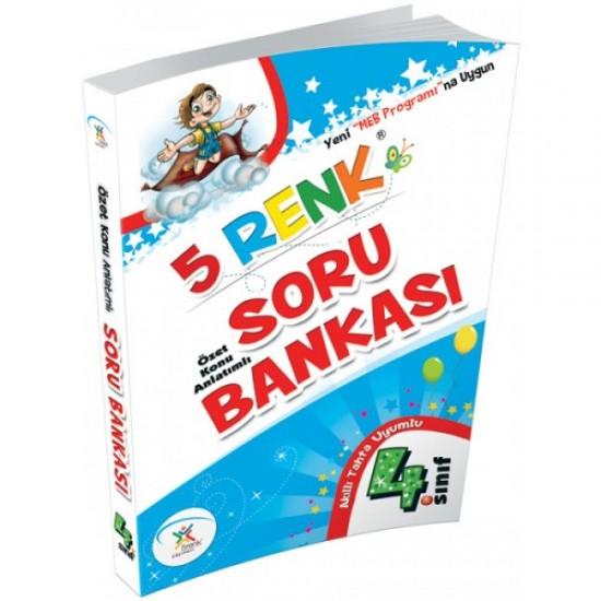 5 Renk Yayınları - Soru Bankası 4. Sınıf
