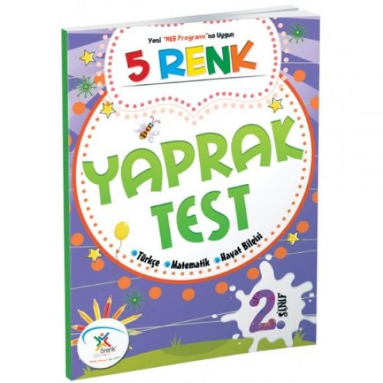 5 Renk Yayınları - Yaprak Test 2. Sınıf