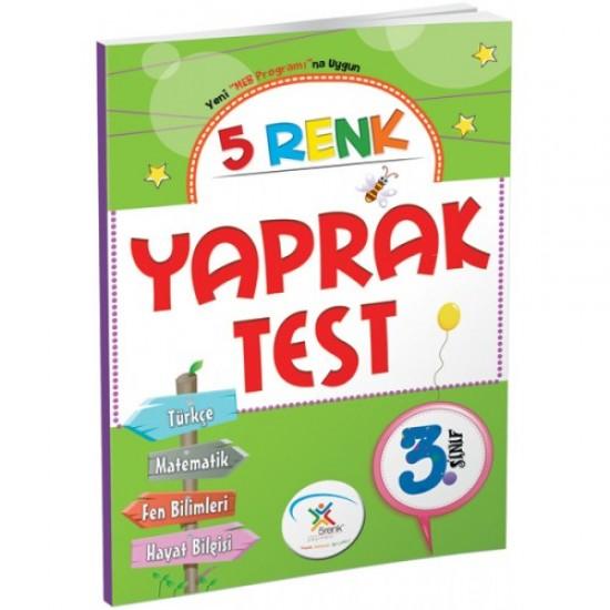 5 Renk Yayınları - Yaprak Test 3. Sınıf