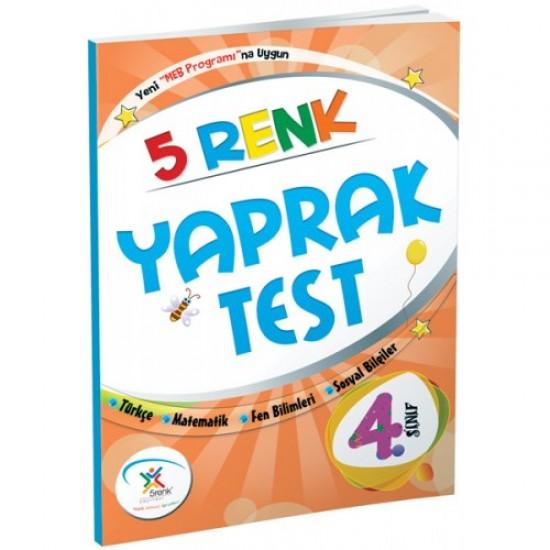 5 Renk Yayınları - Yaprak Test 4. Sınıf