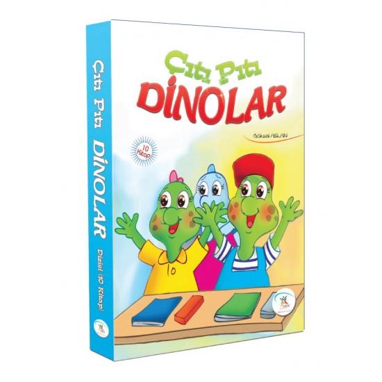 5 Renk Yayınları - Çıtı Pıtı Dinolar (10 Kitap)
