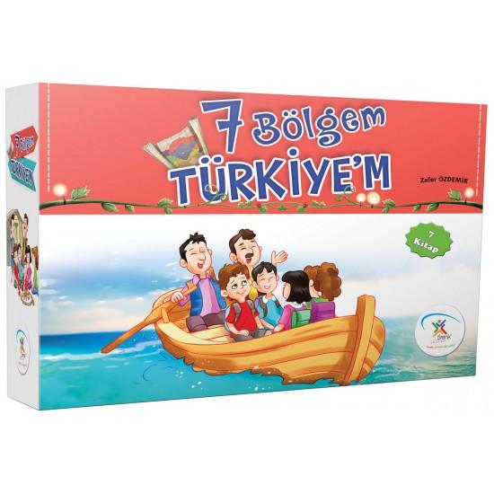 5 Renk Yayınları - 7 Bölgem Türkiye'm (7 Kitap)