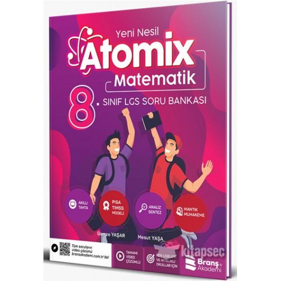 Branş Akademi - 8. Sınıf LGS Atomix Matematik Soru Bankası 2021