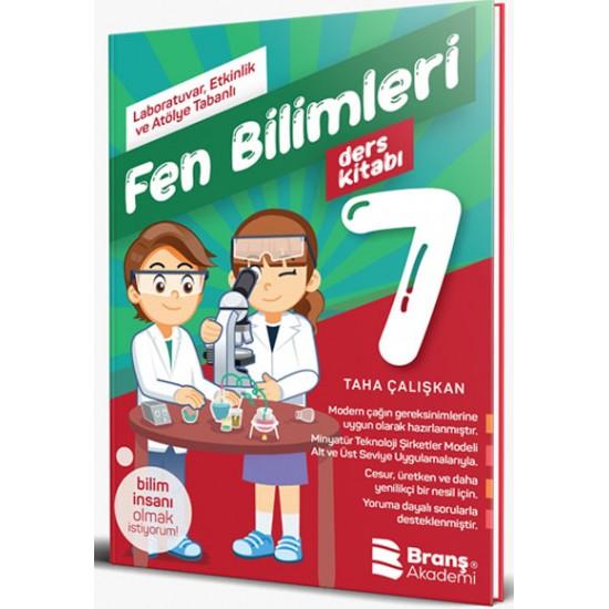 Branş Akademi - 7. Sınıf Fen Bilimleri Deney Ders Kitabı