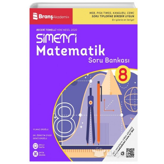 8. Sınıf Simetri Matematik Soru Bankası 2021