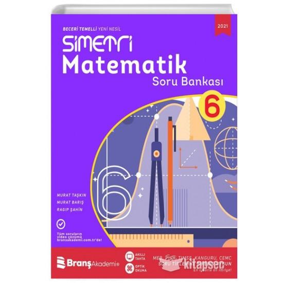 6. Sınıf Simetri Matematik Soru Bankası 2021