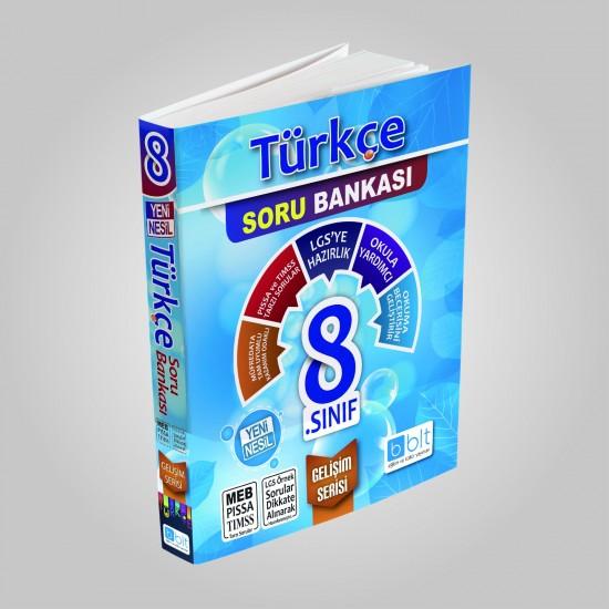 Bulut Eğitim - 8. Sınıf Türkçe Soru Bankası Gelişim Serisi