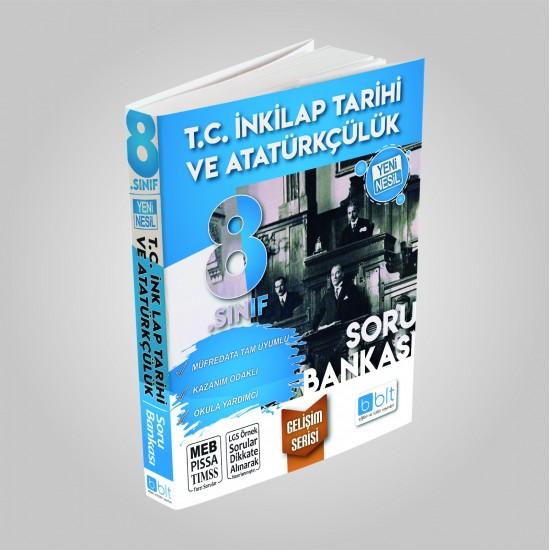 Bulut Eğitim - 8. Sınıf İnkılap Tarihi Ve Atatürkçülük Soru Bankası Gelişim Serisi