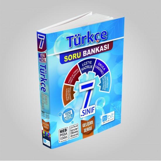 Bulut Eğitim - 7. Sınıf Türkçe Soru Bankası Gelişim Serisi