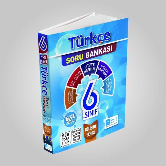 Bulut Eğitim - 6. Sınıf Türkçe Soru Bankası Gelişim Serisi