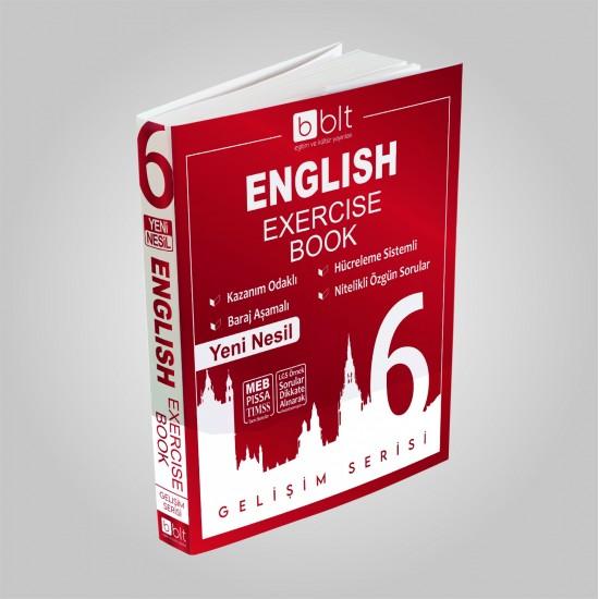 Bulut Eğitim - 6. Sınıf İngilizce Soru Bankası Gelişim Serisi