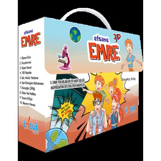 Efsane Emre 10 Kitap Dikkat Çocuk Yayınları