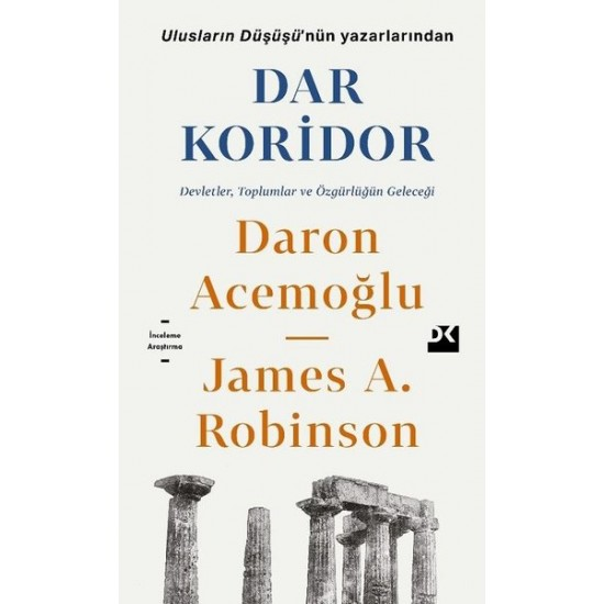 Doğan Kitap - Dar Koridor Daron Acemoğlu, James A. Robinson