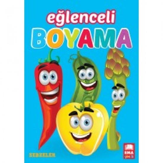 Ema Çocuk - Eğlenceli Boyama Seti 10 Kitap