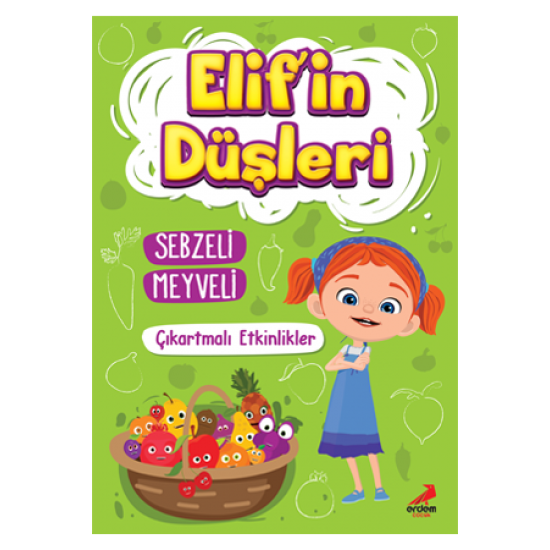 Elif'in Düşleri Sebzeli Meyveli – Çıkartmalı