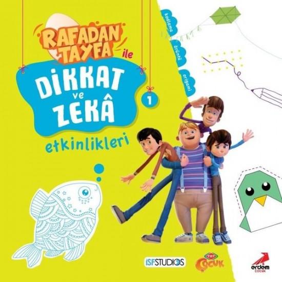 Erdem Çocuk - Rafadan Tayfa ile Dikkat ve Zek Etkinlikleri - 1