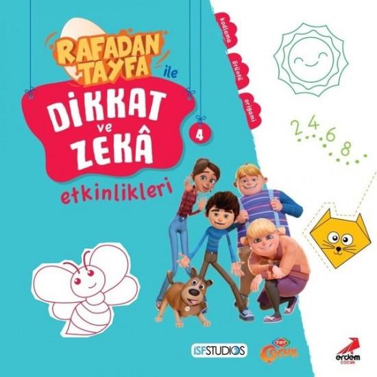 Erdem Çocuk - Rafadan Tayfa ile Dikkat ve Zeka Etkinlikleri - 4