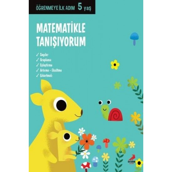 Erdem Çocuk - Matematikle Tanışıyorum Öğrenmeye İlk Adım (5 Yaş)