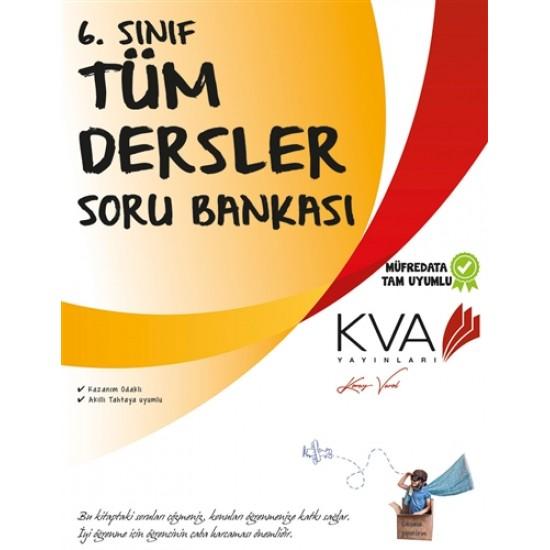 KVA Yayınları - 6. Sınıf Tüm Dersler Soru Bankası