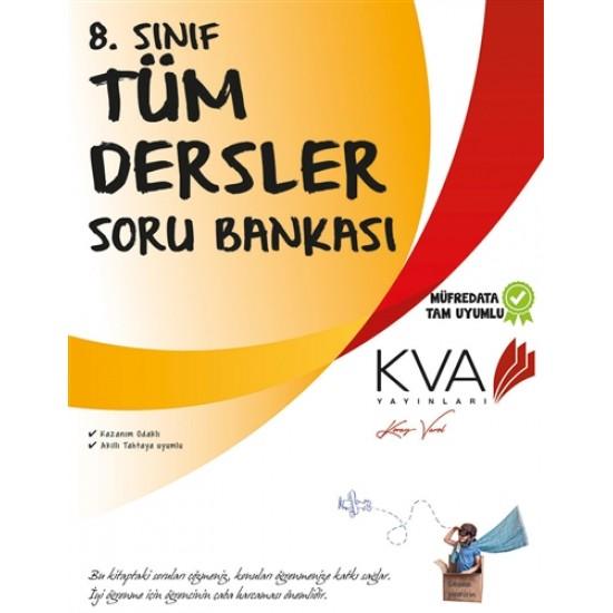 KVA Yayınları - 8. Sınıf Tüm Dersler Soru Bankası