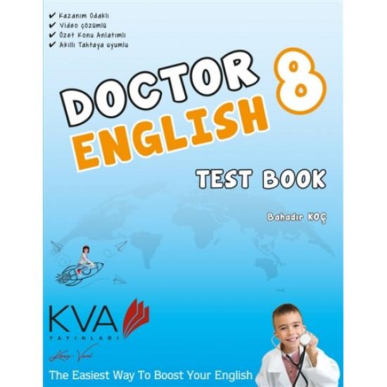 KVA Yayınları - 8. Sınıf Doctor English Test Book Kitabı