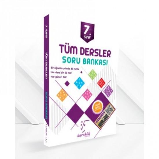 Karekök - 7.Sınıf Tüm Dersler Soru Bankası