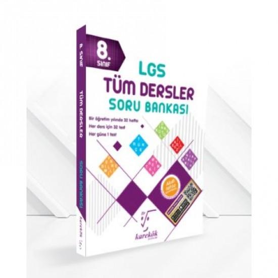 Karekök - 8. Sınıf LGS Tüm Dersler Soru Bankası