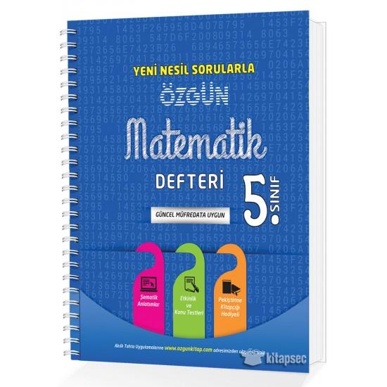 5. Sınıf Özgün Matematik Defteri ve Pekiştirme Yaprakları