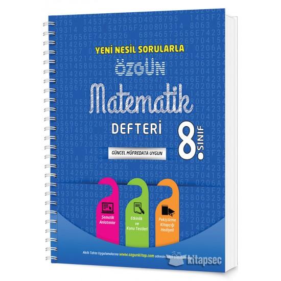 8. Sınıf Özgün Matematik Defteri ve Pekiştirme Yaprakları