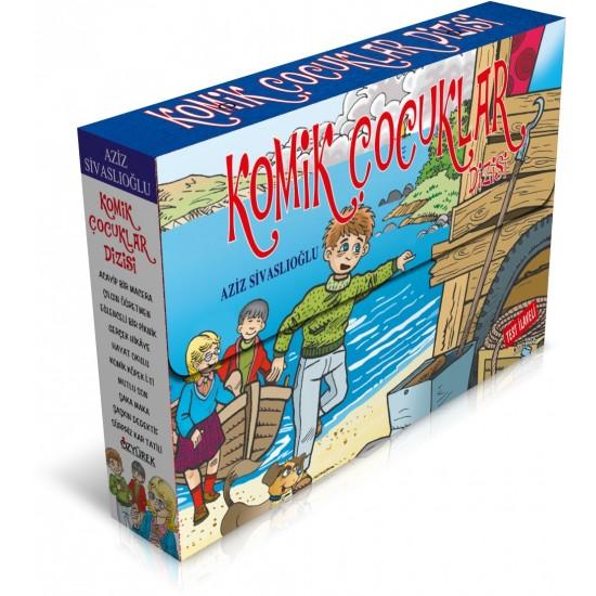 Özyürek - Komik Çocuklar Dizisi (10 Kitap + Test İlave) Aziz Sivaslıoğlu