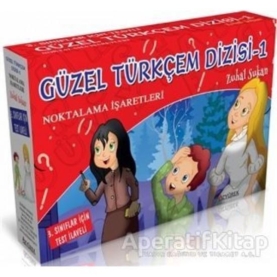 Özyürek - Güzel Türkçem Dizisi 1 Noktalama İşaretleri (10 Kitap + Test İlaveli) Zuhal Sukan