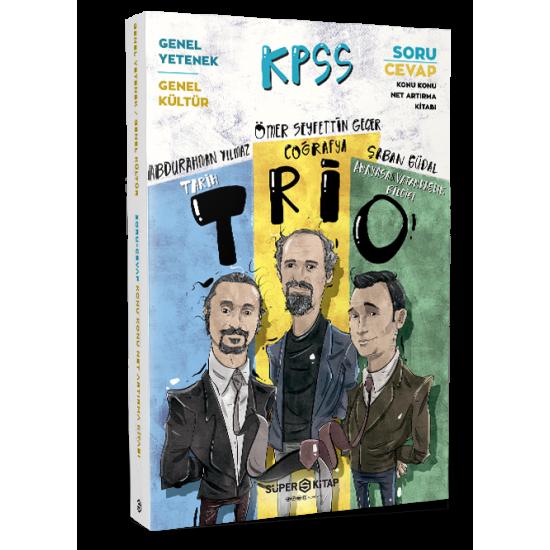Süper Kitap - KPSS Süper Memur Trio Tarih-Coğrafya-Anayasa Ve Vatandaşlık Bilgisi Net Arttırma Kitab