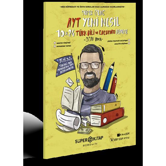 Süper Kitap - AYT Süper Genç Türk Dili ve Edebiyatı 10 Deneme