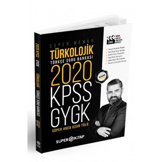 Süper Kitap - 2020 KPSS Süper Memur GYGK Türkolojik Türkçe Soru Bankası
