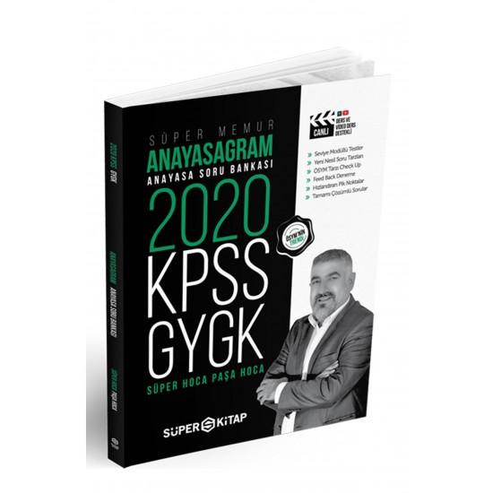 Süper Kitap - 2020 KPSS Süper Memur GYGK Anayasagram Anayasa Soru Bankası