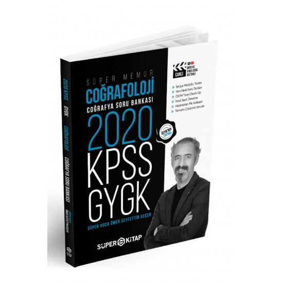 Süper Kitap - 2020 KPSS Süper Memur GYGK Coğrafoloji Coğrafya Soru Bankası