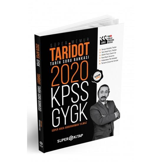 Süper Kitap - 2020 KPSS Süper Memur GYGK Taridot Tarih Soru Bankası