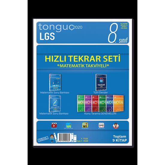 Tonguç Yayınları LGS Hızlı Tekrar Seti Matematik Takviyeli