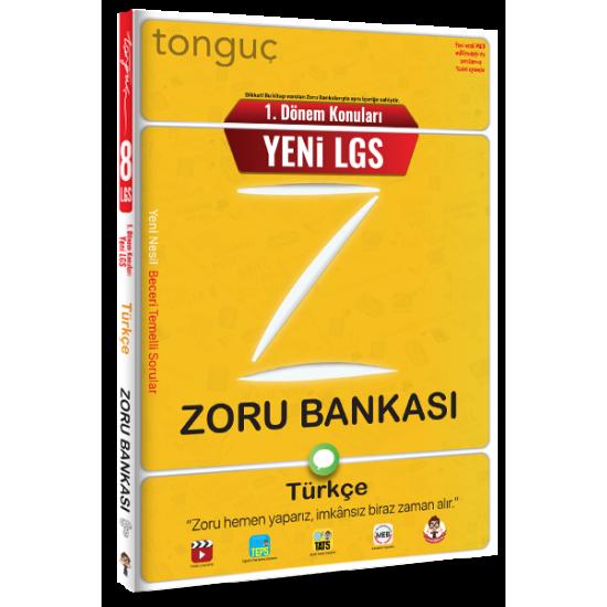 Tonguç Yayınları 1. Dönem Türkçe Zoru Bankası