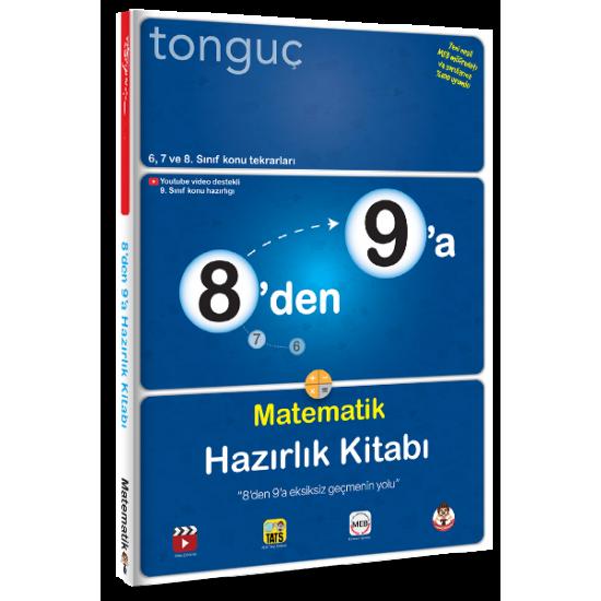 Tonguç Yayınları 8'den 9'a Matematik Hazırlık Kitabı
