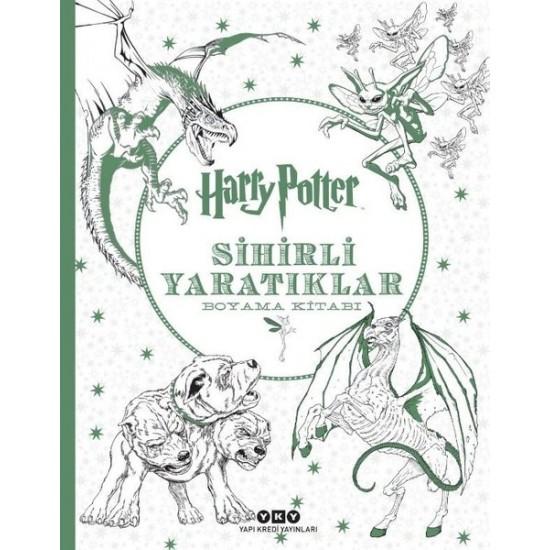 Yapı Kredi - Harry Potter Sihirli Yaratıklar Boyama Kitabı
