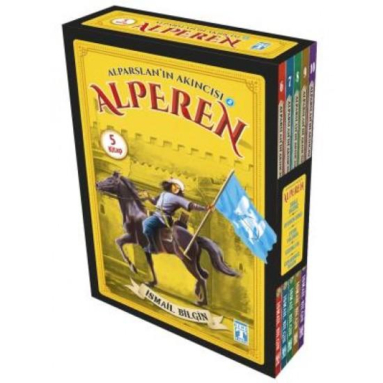 Alparslanın Akıncısı Alperen 2 Set - (5 Kitap)