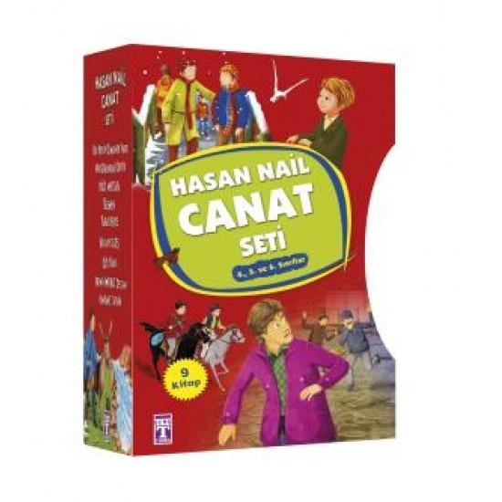 Hasan Nail Canat Seti - (9 Kitap)